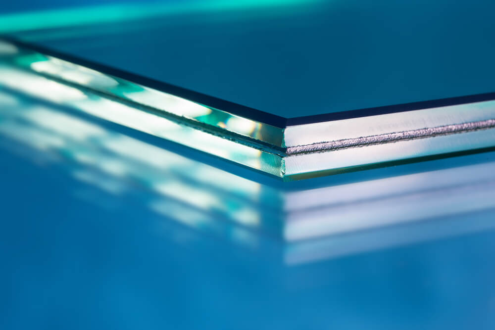 Beveled Glass Edge Table Top