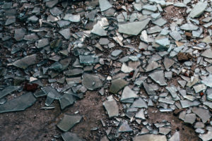 Springfield Glass Company Broken Glass Cleanup